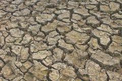Beschaffenheit des gebrochenen Bodenbodens Lizenzfreies Stockbild