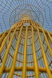 Beschaffenheit des gelben Metalls Lizenzfreies Stockbild