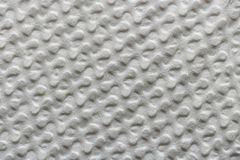 Beschaffenheit des gestreiften alten Weißbuches oder des Gewebeblattes, abstrakter Musterhintergrund lizenzfreie stockbilder