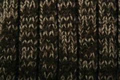 Beschaffenheit des gestrickten Tuches Stockfotografie