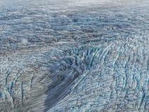 Beschaffenheit des Gletschers stockbilder
