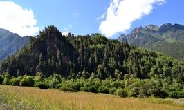 Beschaffenheit des größeren Kaukasus Lizenzfreies Stockbild