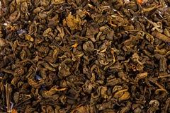Beschaffenheit des grünen Tees Stockfotografie