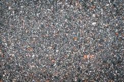 Beschaffenheit des hellen glatten Asphalts mit kleinen Steinen Tapete f?r Entwurf, Draufsicht stock abbildung