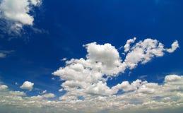 Beschaffenheit des Himmels stockbild