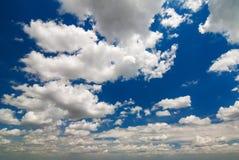 Beschaffenheit des Himmels lizenzfreies stockbild