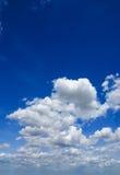 Beschaffenheit des Himmels stockfotografie