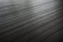 Beschaffenheit des Holzfußbodens Stockbilder