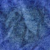 Beschaffenheit des Jeanstextilabschlusses oben Jeans-Denim-Hintergrund Stockfoto