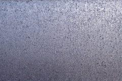 Beschaffenheit des komprimierten geschmolzenen und gehämmerten und eingebeulten Metalls stockbild