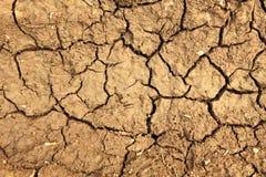 Beschaffenheit des Lehms Stockbilder