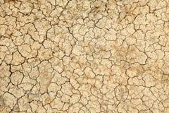 Beschaffenheit des Lehms Stockbild