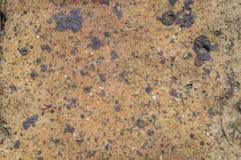 Beschaffenheit des Lehms gebrannt im Ofen Stockfoto