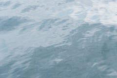 Beschaffenheit des Meerwassers Stockfotos