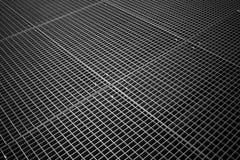 Beschaffenheit des mit Ziegeln gedeckten Metallrasterfeldes Stockbild