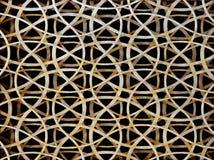 Beschaffenheit des nahtlosen spinnenden Musters Stockfotografie