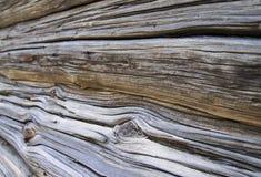Beschaffenheit des Naturholzes, alte Klotz mit Sprüngen Stockbilder