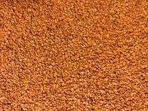 Beschaffenheit des orange Gummimattenbodens Stockbilder