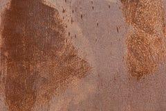 Beschaffenheit des oxidierten und getragenen Metalls Lizenzfreies Stockbild