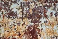 Beschaffenheit des rostigen Metalls Stockbild