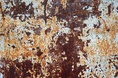 Beschaffenheit des rostigen Metalls Lizenzfreie Stockbilder