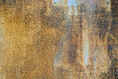 Beschaffenheit des rostigen Metalls Lizenzfreies Stockfoto
