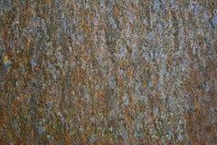 Beschaffenheit des rostigen Metalls Lizenzfreies Stockbild