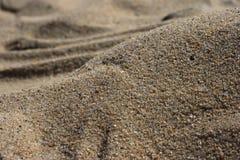 Beschaffenheit des Sandes Stockfotografie