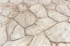 Beschaffenheit des Steinfußbodens. Stockbilder