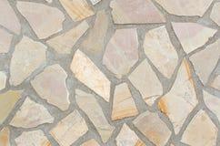Beschaffenheit des Steins mit Mörtelfugen stockfotos