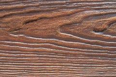 Beschaffenheit des synthetischen Holzes Stockfotos