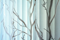 Beschaffenheit des Trennvorhangs und des vertikalen Jalousie Lizenzfreie Stockbilder