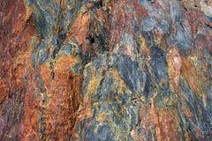 Beschaffenheit des vulkanischen Felsens Lizenzfreies Stockbild