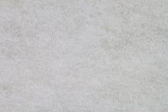 Beschaffenheit des weißen Schwammes Stockfoto