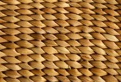 Beschaffenheit des Weidenkorbes Lizenzfreies Stockfoto