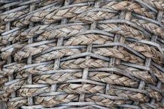 Beschaffenheit des Weinlese-Korbes Lizenzfreie Stockfotos
