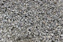 Beschaffenheit des zerquetschten Steins Stockfotos