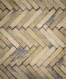 Beschaffenheit des Ziegelstein Tilingsmusters Stockbild