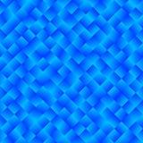 Beschaffenheit, die aus blauen hellen Steigungsquadraten besteht Abstraktes vect Stockbild