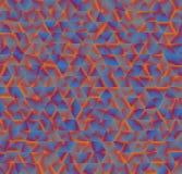 Beschaffenheit, die aus Dreiecken besteht Abstrakter vektorhintergrund Templ Stockbild