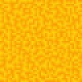 Beschaffenheit, die aus gelben Steigungsquadraten besteht Abstraktes Vektorba Lizenzfreie Stockfotografie