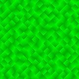 Beschaffenheit, die aus grünen Steigungsquadraten besteht Abstraktes Vektor-BAC Lizenzfreie Stockfotos
