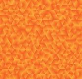 Beschaffenheit, die aus orange Steigungsdreiecken besteht Abstrakter Vektor Stockbild