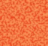 Beschaffenheit, die aus orange Steigungsdreiecken besteht Abstrakter Vektor Lizenzfreies Stockbild