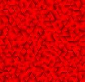 Beschaffenheit, die aus roten Dreiecken besteht Abstrakter vektorhintergrund T Lizenzfreie Stockfotos
