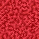 Beschaffenheit, die aus roten Steigungsquadraten besteht Abstraktes Vektor backg Lizenzfreies Stockbild