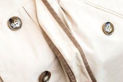 Beschaffenheit - ein Mantel der weißen Frauen Lizenzfreie Stockfotos