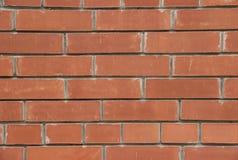 Beschaffenheit einer Backsteinmauer Stockfotografie