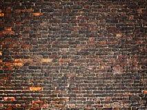 Beschaffenheit einer Backsteinmauer als Hintergrund, Schmutzoberfläche mit einem vin Stockfotos