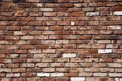 Beschaffenheit einer Backsteinmauer, Hintergrund Lizenzfreies Stockfoto